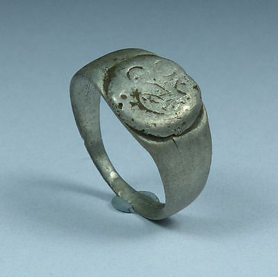 Ancient Roman Silver Ring 2Nd Ad