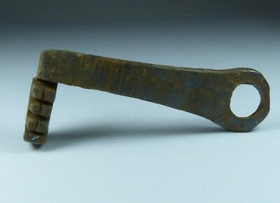 Ancient Roman Iron Key 2Nd Ad