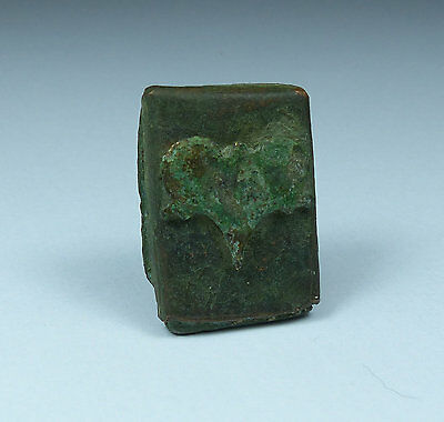 Nice Ancient Roman Bronze Seal Box Complete 2Nd/3Rd Century Ad