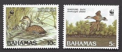 Bahamas 1988 Whistling Ducks set Sc# 645-48 NH