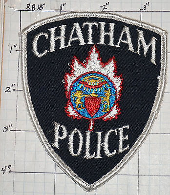 Canada, Chatham Police Dept Patch