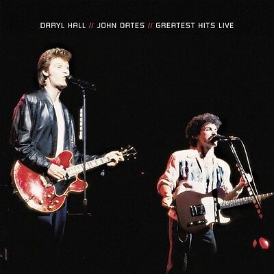 Daryl Hall & John Oates, Hall & Oates - Greatest Hits Live [New CD] Manufactured
