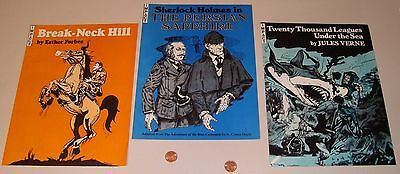 Vintage 1978 IMPACT Comic Books Sherlock Holmes etc Darryle Purcell Illustrator