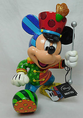 Disney Enesco by Britto Mickey Mouse als band Leiter Leader 4039135