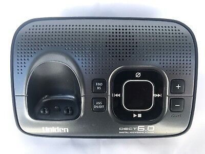 Uniden D1680  DECT6.0 Cordless Phone Answering Machine Base (Only