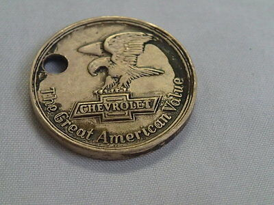 Vtg.1931 Chevrolet Advertising Coin/token American Legion Convention Detroit