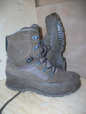 Size 8 brown suede desert combat haix boots! excellent! hardly used!