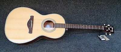 Ibanez AVT1-NT Artwood 4-String ACOUSTIC TENOR GUITAR Solid Spruce Top