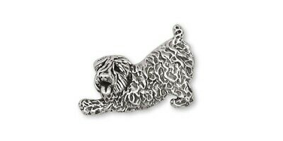 Soft Coated Wheaten Brooch Pin Jewelry Sterling Silver Handmade Dog Brooch Pin D