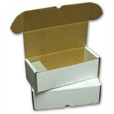 (2) 500 Count BCW  Cardboard Trading Card Boxes - BRAND NEW