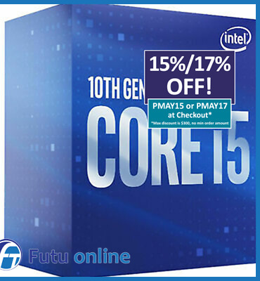 Intel Core i5 9400F Processor 9MB 2.9GHz LGA1151 6 Core 6 Thread Desktop CPU NEW