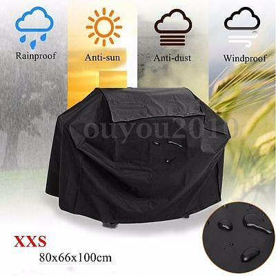 Waterproof Outdoor BBQ Gas Grill Cover Barbecue Garden Patio Protector Black