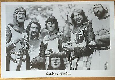 wall art  MONTY PYTHON AND THE HOLY GRAIL poster print 24 X 36