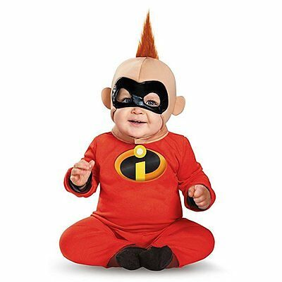 Disney Baby The Incredibles Baby Boys' Baby Jack Deluxe Infant Costume Sz 6-12 m