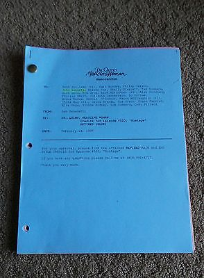 Dr. Quinn Medicine Woman Tv Series Show Script Episode Hostage