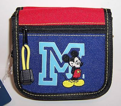 Disney Deluxe MICKEY MOUSE WALLET PURSE Cross-Body Shoulder Bag Tote NEW!