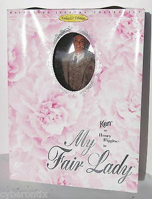 Barbie My Fair Lady Ken as Henry Higgins Doll 1995 NEW Hollywood Legends