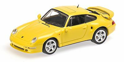 Minichamps 1/43 PORSCHE 911 TURBO S (993) - 1998 - LIGHT YELLOW