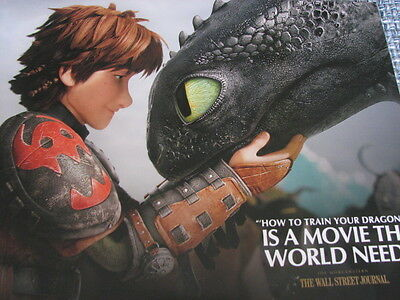 How to Train Your Dragon 2 Pressbook Oscar Ad consideration Book