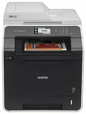Brother MFC-L8600CDW All in One Colour Laser Wireless Multifunction Printer Fax