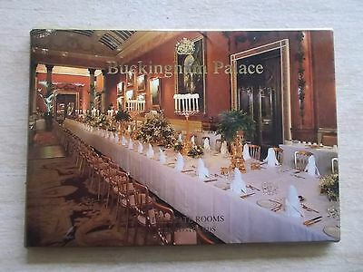 Pack of 10 Buckingham Palace Postcards~The State Rooms~Unused