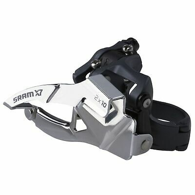 SRAM X5 10-Speed MTB/Mountain Bike/Cycle Front Derailleur - Triple - Top Pull