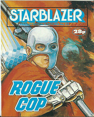 Rogue Cop,starblazer Fantasy Fiction In Pictures,no.212,1988,comic