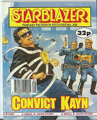 Convict Kayn,starblazer Fantasy Fiction In Pictures,no.256,1990,comic