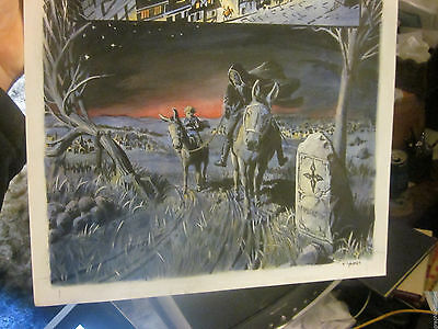 Outlaw Prince ORIGINAL COMIC ART Painted by Thomas YEATES Signed,Michael KALUTA2