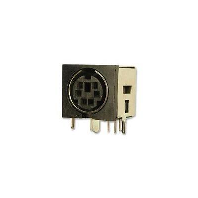 GA224963 Cliff Electronic Components Conn, Mini Din, Screened, Socket, 6Pos