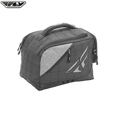 Fly Racing Motocross Enduro Helmet Garage Storage Bag - Black/Grey