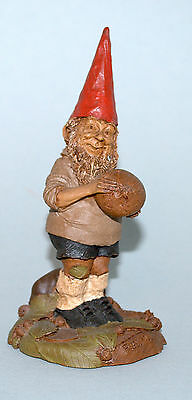 Tom Clark Gnome Fielding Goalie Very Nice Condition !