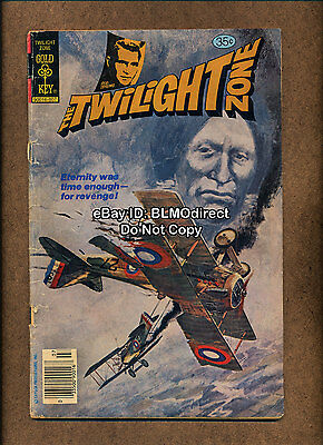 1 1978 Twilight Zone #85 GD Second Frank Miller Art Gold Key Sin City Movie