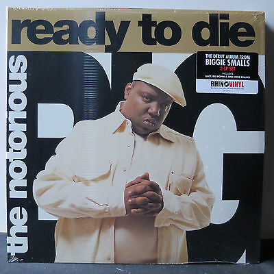 "Notorious Big "" Ready To Die "" Sealed U.s. Lp Heavy Pressing Gatefold Sleeve"