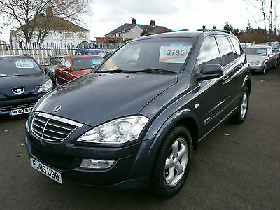 2009 09 Ssangyong Kyron 2.0 turbo diesel  EX full service history