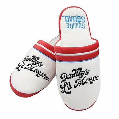 Harley Quinn Suicide Squad Daddy's Lil Monster Womens/Girls Mule Slippers