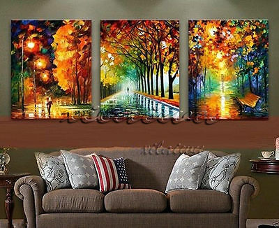 Large Modern hand-painted Art Oil Painting Wall Decor canvas