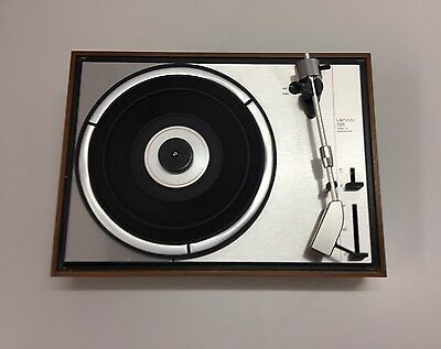 Perfect Remaining Lenco 725 Made In Switzerland Turntable Used