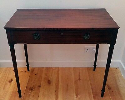 Early 19th Century Georgian Hall Console Side Table