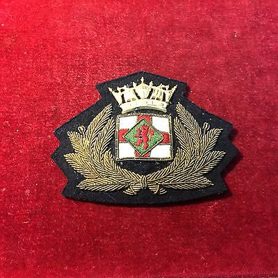 Vintage Shipping Line / Merchant Navy Cap Badge.