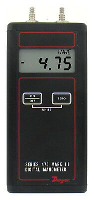 Dwyer 475-000-FM Intrinsically Safe Handheld Digital Manometer