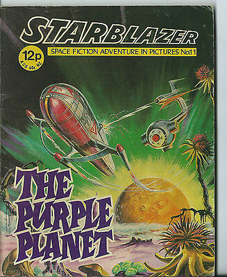 The Purple Planet,starblazer Space Fiction Adventure In Pictures,no.11,1979