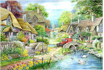 The House Of Puzzles - 250 BIG PIECE JIGSAW PUZZLE - River Cottage Big Pieces