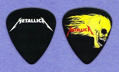 Metallica Flaming Skull Promo Black Guitar Pick