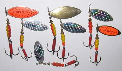 7 Mepps Aglia Long Size 3 & 4 Lures Spinners