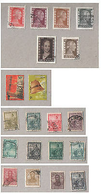 Argentina Selection of Used Stamps