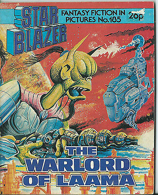 The Warlord Of Laama,starblazer Fantasy Fiction In Pictures,no.185,1987