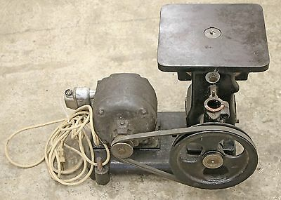 Oliver Die Filer Home Shop Machinist Filing Machine w/ Stand Tool Ammco Delta