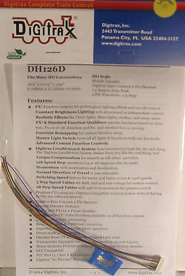 Digitrax HO Scale DH126D 1.5 AMP DCC Decoder Free Shipping