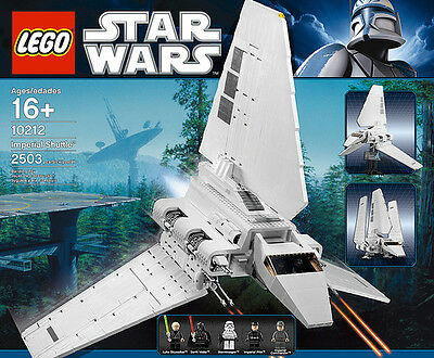 Lego 10212 Star Wars Imperial Shuttle Nuovo